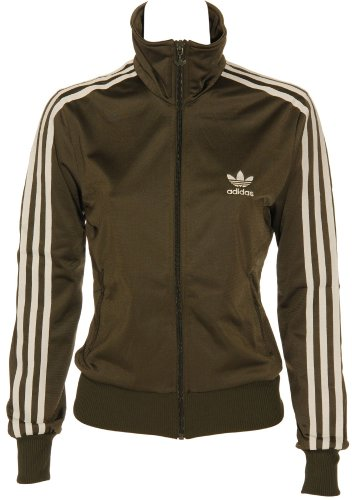 good hot product undefeated x Adidas Firebird TT Veste Dames Veste de sport olive blanche ...