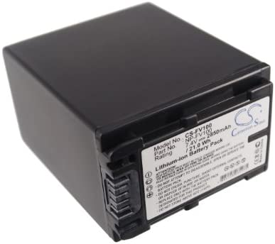 Battery Replacement for Sony DCR-SX63 DCR-SX63 DCR-SX63E DCR-SX63E//S DCR-SX83 DCR-SX83E DCR-SX83E//S DSC-HX1 Record