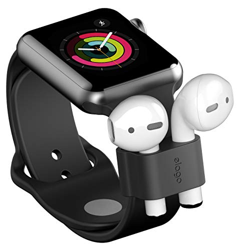elago AirPods Wrist Fit - [Durable AirPods Holder][Compatible with Apple AirPods 1&2][Apple Watch Compatibility][Portability][Non-Toxic] - for Apple AirPods 1& 2