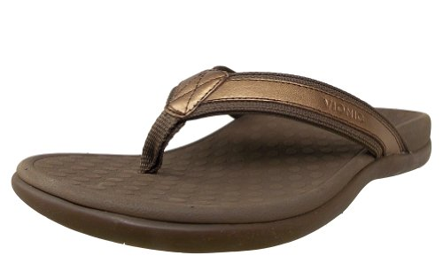 VIONIC Paire de semelles Orthaheel Femme Tide II Sandal - Or - Bronze Metallic, 37