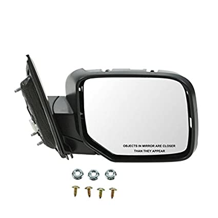 amazon com side view mirror power black passenger right rh for 09