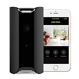 Canary View Indoor 1080p HD Security Camera with Wide-angle Lens, Motion/Person Alerts, Works with Alexa, Pets/Elder/Baby Monitoring, Award-winning Design