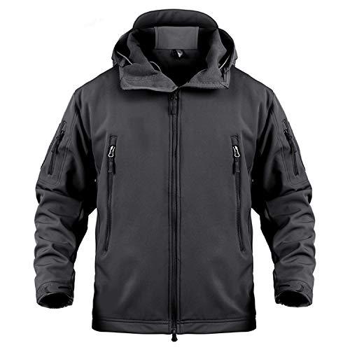 Coat Militare Camouflage Antivento Con Tattici Jacket Okayit Cappuccio Softshell Army Giacca Inverno Impermeabile Black Caldo Vestiti Uomo Snake APXRnqwE