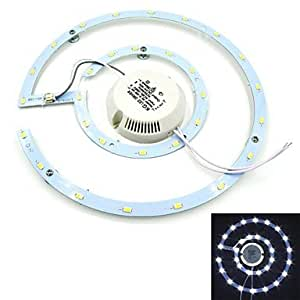 Leedfsw JMT-15W 15W 1275lm 6500K 30x5730SMD LED Cool White Magnet Ceiling Light - (AC 85~265V)