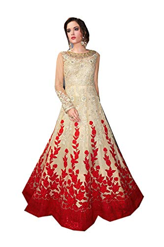 Ethnic Indian Carem Salwar Traditonal With Partywear Kameez Red Designer Women qawrZtfaP