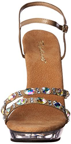 Dress 133 Women's Sandal Taupe Lip Fabulicious qTtUxPU