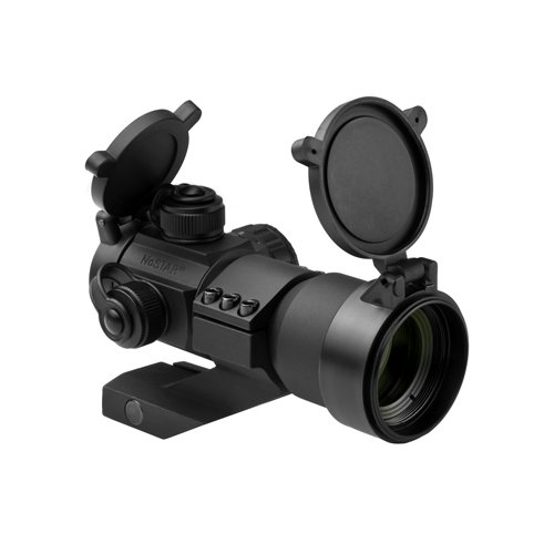 NcStar Tactical Red/Green/Blue Dot Sight with Cantilever Weaver Mount DRGB135