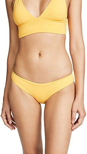LSpace Women's Sandy Bikini Bottoms, Sunshine Gold, (Island Company Womens Swimwear)