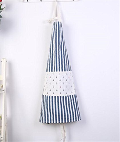 Goodscene Creative Apron Fashion Navy Style Striped Apron-Blue Stripe Apron by Goodscene