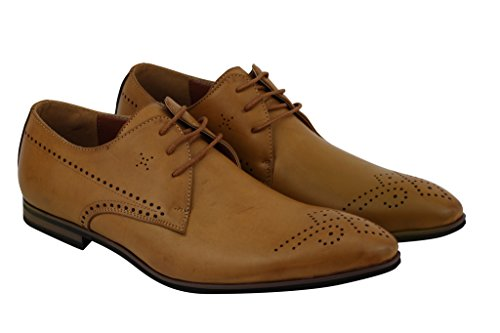 Xposed - Zapatos de cordones para hombre Marrón marrón l3WIfJnioZ