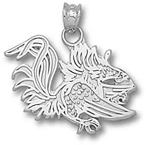 University of South Carolina Gamecock Charm - Sterling Silver