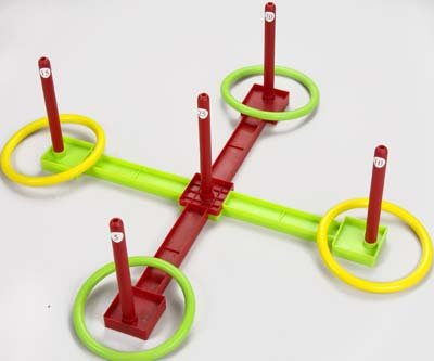 Halex Ring Toss with Scoring Targets Game