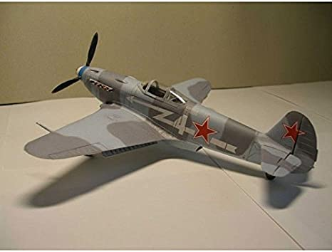 OREL 010-1//33 Paper model kit Military aviation Fighter aircraft YAK-3 scale