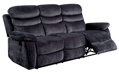 HOMES: Inside + Out IDF-6238-SF Lucas Reclining Sofa