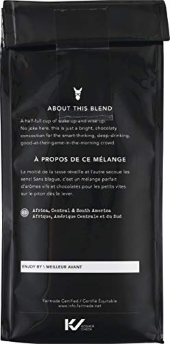 Kicking Horse Coffee, Smart Ass, Medium Roast, Ground, 10 Oz - Certified Organic, Fairtrade, Kosher Coffee