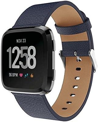NewKelly - Correa de reloj para Fitbit Versa Smartwatch, correa de ...