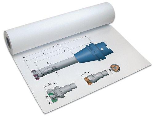 Papyrus Plotter-Papier DigitalPrint PPC, 75 g/qm, 420 mm x 175 m 88020610
