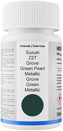 Mg Prime Autolack Lackstift Set Für Suzuki Z2t Grove Green Pearl Metallic Grove Green Metallic Basislack Klarlack Je 50ml Auto