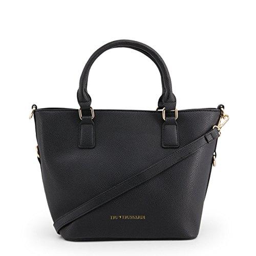 Black Trussardi Handbag Genuine Women Designer XxHT4wXq