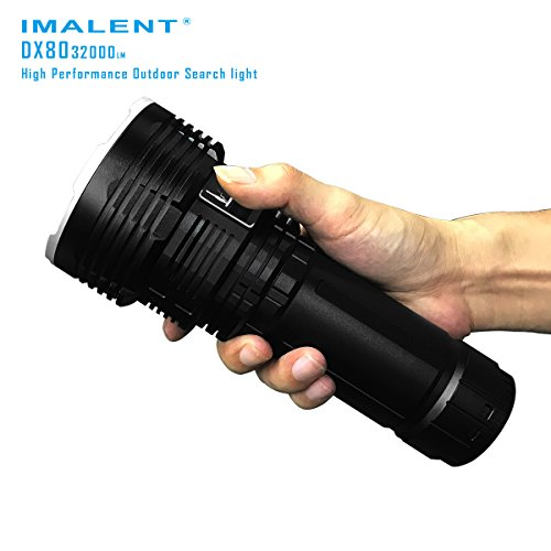 Imalent DX80 Flashlights High Lumens 32000 Lumens Searchlight LED Flashlights Built-in Battery by IMALENT (Image #3)