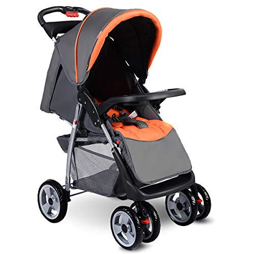 Costzon Baby Stroller Foldable