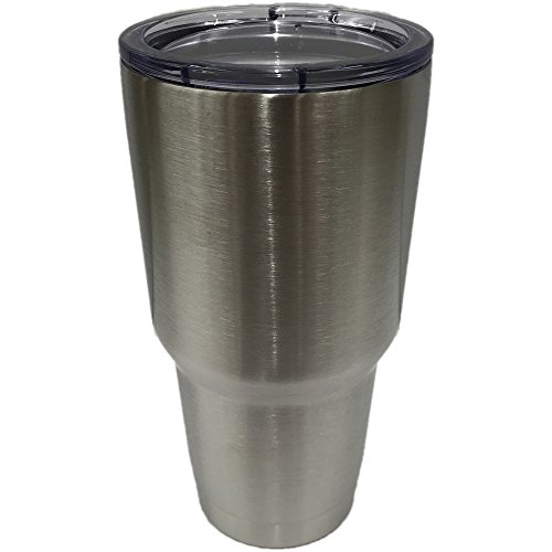 ETC Stainless Steel Tumbler - Double Walled Vacuum Insulated Travel Mug - 30 oz