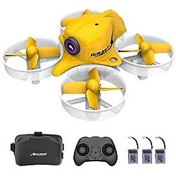 Mini FPV Drone with HD Camera and VR Goggles