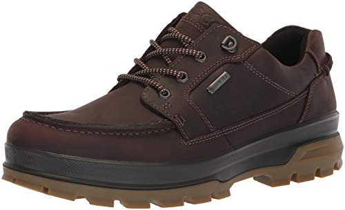 ECCO Men's Rugged Track Gore-TEX Moc Tie Hiking Shoe, Mocha, 42 M EU (8-8.5 US) ()