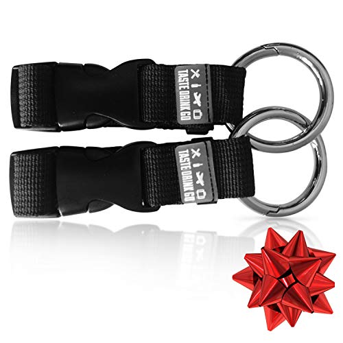 - Travel Accessories Luggage Straps (2 Pack) - Easy Carry Travel Gear & Luggage Accessories