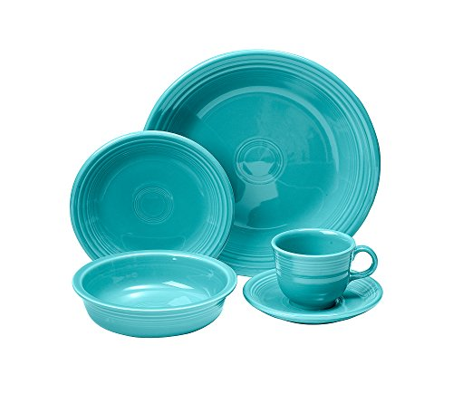 Fiesta 5-Piece Place Setting, Turquoise image