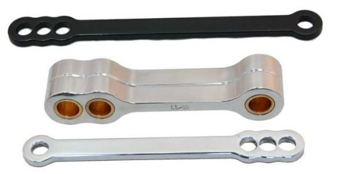 Powerstands Racing Lowering Link Black for Yamaha YZF R6 YZFR6 06-09 (R6 Suspension Yamaha)