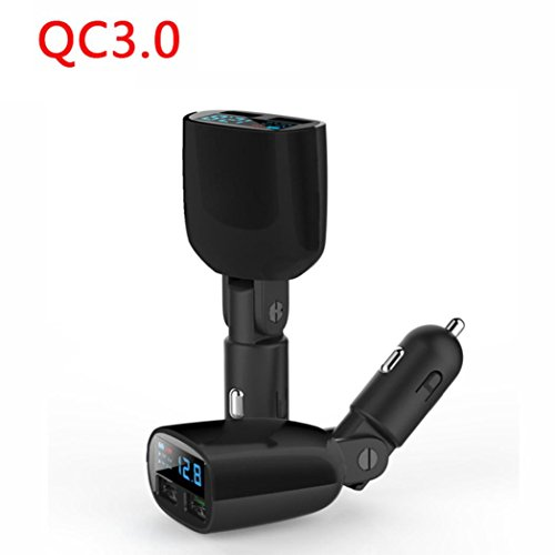 mchoice-qualcomm-certificated-qc30-led-2-port-usb-quick-fast-24a-vehicle-car-charger-black