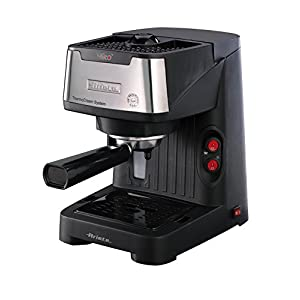 Ariete 1339 Mirò Macchina Caffè Espresso in Polvere e Cialda ESE, Dispositivo Maxi Cappuccino, Vassoio Raccogligocce…