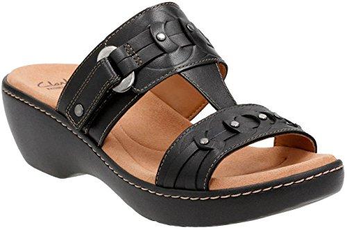 Clarks Women's Delana Macrae Black (Clarks Woven Sandals)