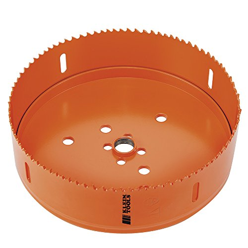 Bi-Metal Hole Saw, 6-3/8-Inch Klein Tools 31900 ()