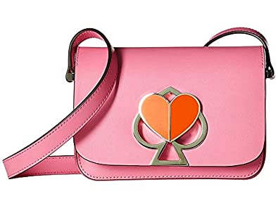05f6c7ea4c674e Amazon.com: Kate Spade New York Women's Nicola Twistlock Small Flap Shoulder  Hibiscus Tea One Size: Shoes