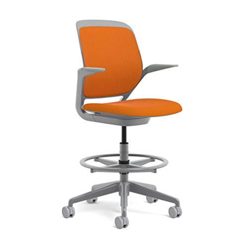 Steelcase Platinum Base with Hard Floor Casters Cobi, used for sale  Delivered anywhere in USA