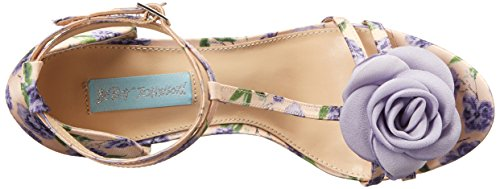 Dress Lilac Johnson Womens by Betsey Emme Blue SB Sandal wq4P8Y