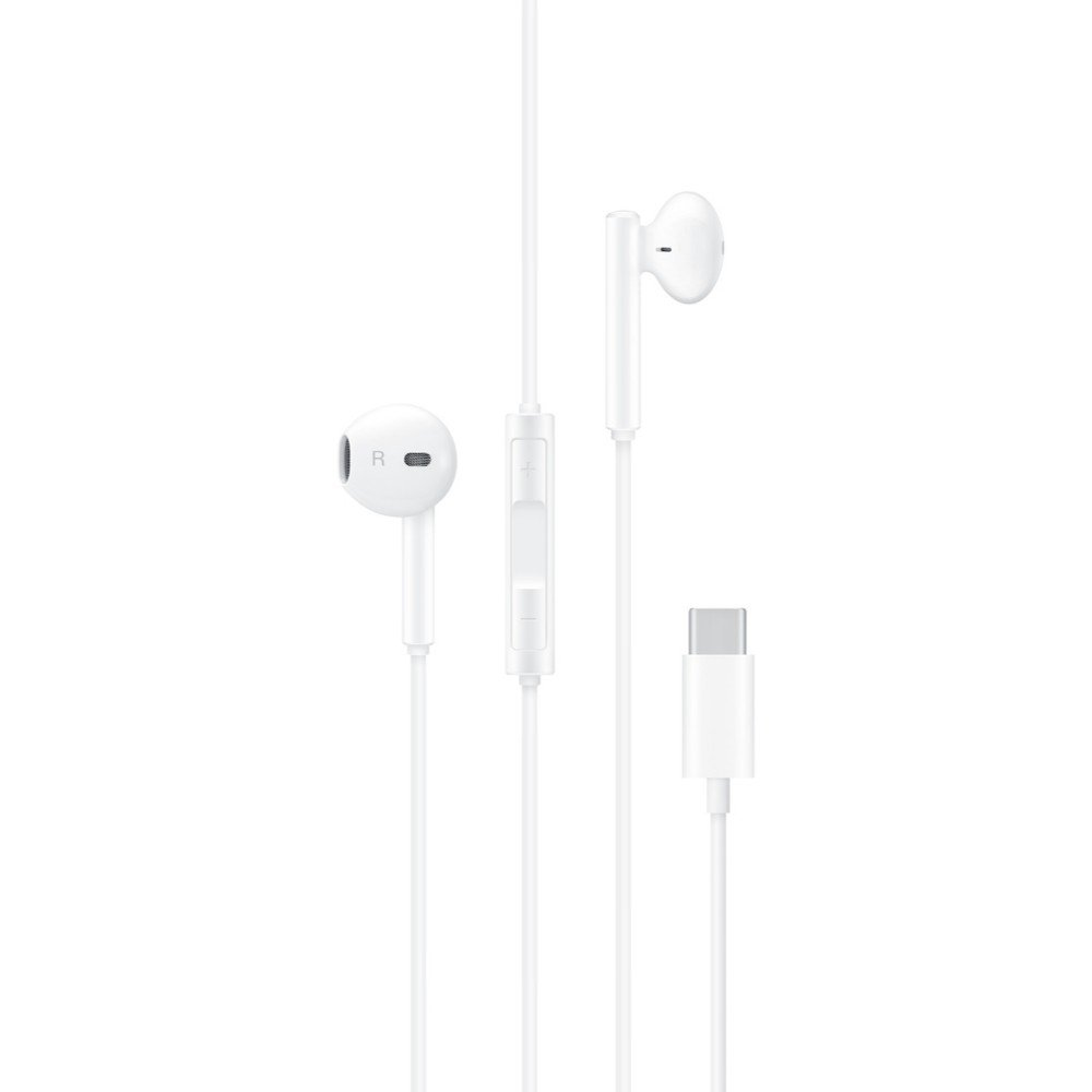 Blanco Auriculares intraulares In-ear USB Tipo C Hi-Res Huawei CM33