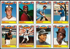 Amazoncom 1986 Topps Glossy All Star Baseball Card Set