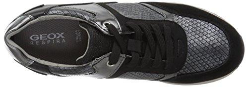 Geox Women's Deynna Black Sneaker 3 xAASqR07wg