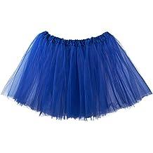 My Lello Women's, Teen, Adult 3-Layer Ballet Tulle Tutu Skirt