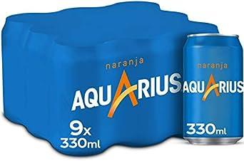 Aquarius Naranja - Bebida funcional con sales minerales, baja ...