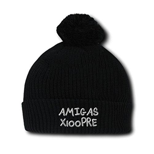 Amiga (Black Spanish Hat With Pompoms)