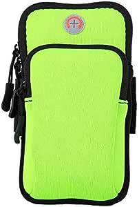 حامل هاتف جيم بسوار ذراع للهاتف للأذرع - أخضر