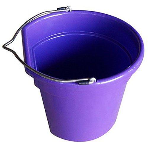 Flat Bucket Quart 20 - Qingdao Huatian Hand Truck MR 20 Quart Flat Bucket, Purple
