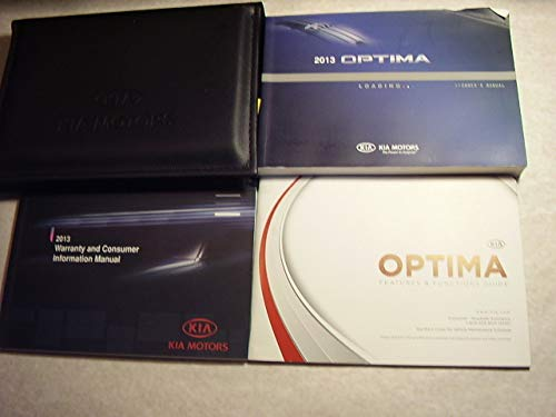 (2013 Kia Optima Owners Manual)