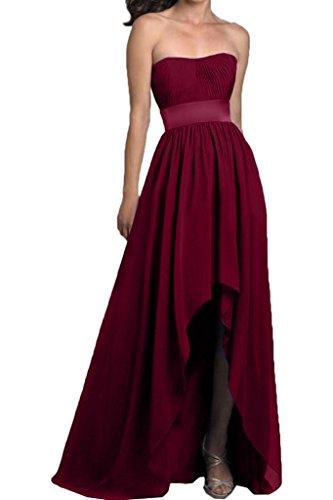 Missdressy - Vestido - para mujer borgoña