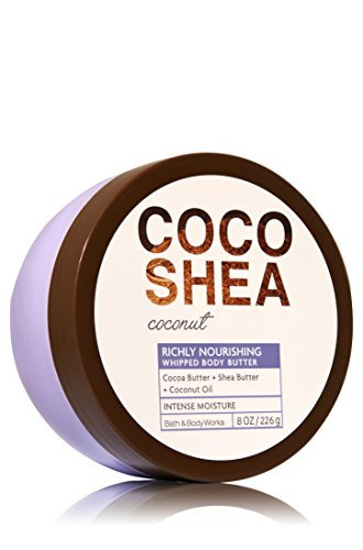 - Bath & Body Works CocoShea Coconut Whipped Body Butter 8 Oz.