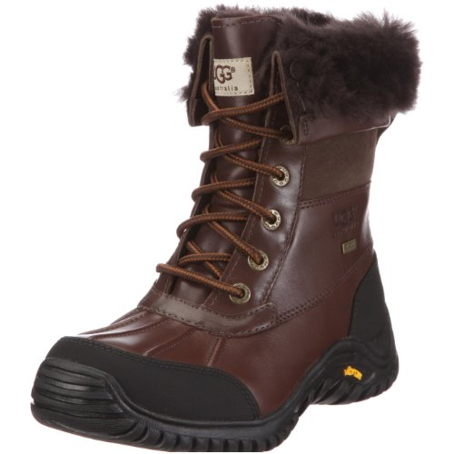 (UGG Women's Adirondack II Winter Boot, Obsidian, 7 B)